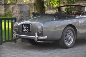 Aston Martin DB2/4 DHC drophead coupe Automeetic